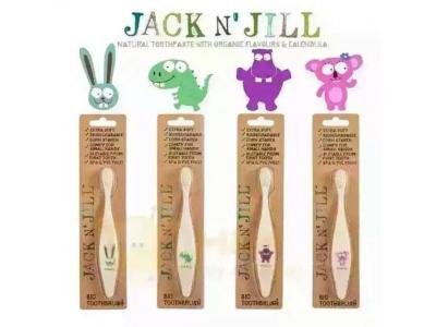 Jack n´Jill BIO dětský zubní kartáček - extra měkký