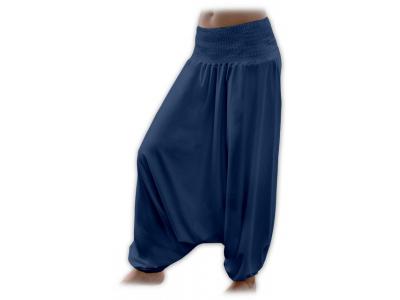 Jožánek Turecké kalhoty najen pro těhotné - jeans modré, M/L