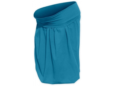 Jožánek Těhotenská balonová sukně - tmavý tyrkys, L/XL
