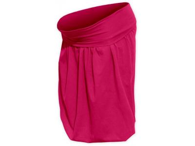 Jožánek Těhotenská balonová sukně - sytě růžová