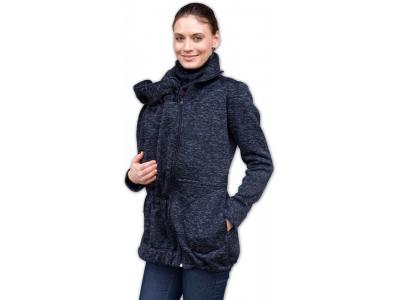 Jožánek Nosící svetr RADKA - černý melír