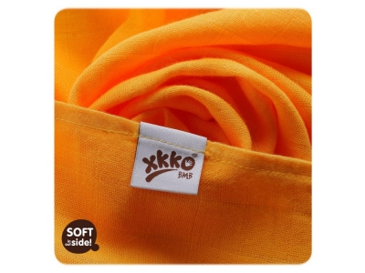 KIKKO Bambusová osuška / tetra plena 90x100cm - orange
