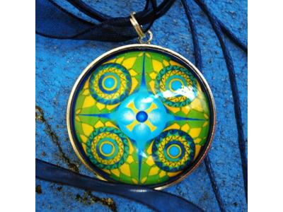 Mandala na krk - Archanděl Michael a Faith