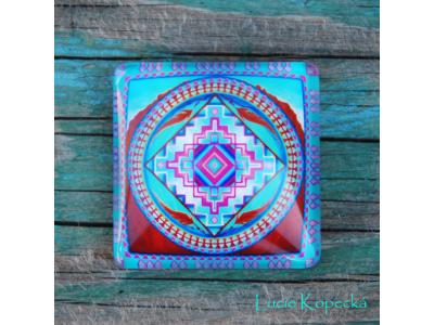 Magnet - Mandala Srdce hory
