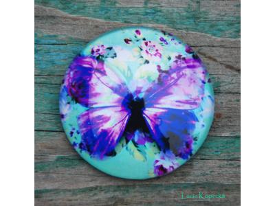 Magnet kulatý - Motýlek