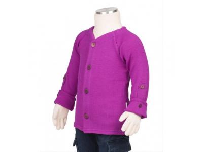 Manymonths kabátek merino Violet Lotus