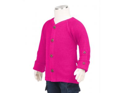 Manymonths kabátek merino 2017 - Lilac Rose