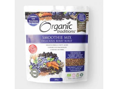Mix ze superpotravin s probiotiky a omega-3 tuky