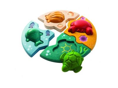 PlanToys Puzzle - Mořský život