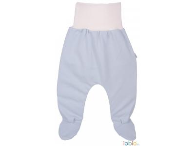 IoBio Polodupačky BIO bavlna - baby modrá