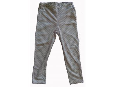Iobio Tenké letní kalhoty - růžový trojlístek, vel. 98/104