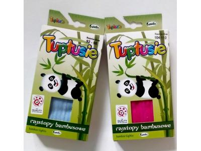 Tuptusie bambusové dětské punčocháče 128/134