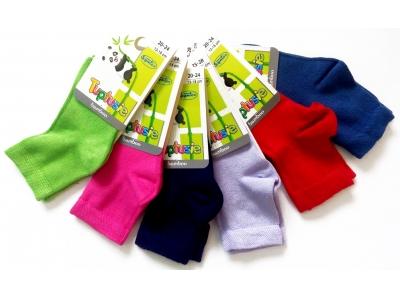 Tuptusie bambusové dětské ponožky 25-28 (16-18cm)