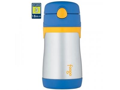 Thermos Foogo - kojenecká termoska 290 ml - modrá