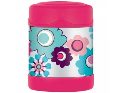 Thermos dětská termoska na jídlo 290 ml - květy