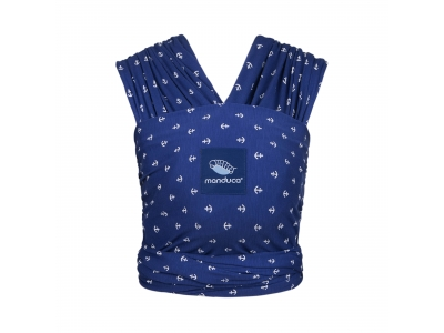 Manduca Sling - elastický šátek - Blue Anchors